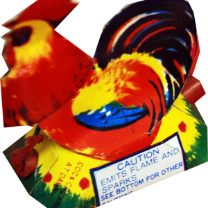 The name says it all. This crazy chicken emits showers of multi-colored sparks and finishes with some of the loudest whistles you have ever heard out of an item of this size. A great selling and very inexpensive item. - See more at: http://www.jakesfireworks.com/cock-crowing-at-dawn.html#!prettyPhoto/0/