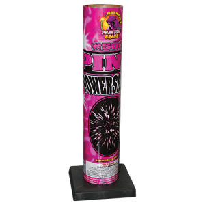 Provides a powerful pink chrysanthemum burst. Perfect idea for a gender reveal or to add a bright color to your firework shoot