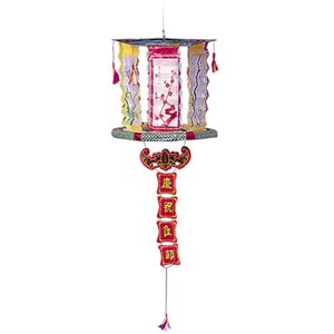 This classic novelty is hung from a tree or suspended board (with included string). It spins producing a circle of fire, then it opens into a beautiful Chinese Lantern that sparkles. This makes a great souvenir when done.