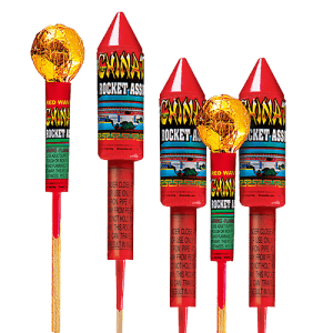 Powerful rockets have arrowhead and ball-shaped fuselages. Pack includes five awesome effects.