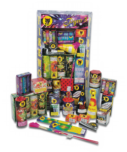 "Code named ""Pyro #3"", this display assortment is grade one entertainment in keeping with Black Cat's seal of quality, safety and value. - See more at: http://www.blackcatfireworks.com/fireworks/assortments/bc-029c/#sthash.YYlp23dz.dpuf"