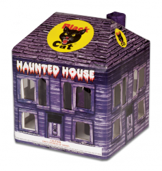 Get spooked with Black Cat's Haunted House. Like an amusement park ride, Haunted House takes you on a journey of wailing whistles, scary sillhouettes and ghoulish glitters. Throw in some glowing windows, colors stars and cackling crackle and you get the full Haunted House experience. - See more at: http://www.blackcatfireworks.com/fireworks/fountains-200-gram/bc-2182/#sthash.1EP2Vj28.dpuf