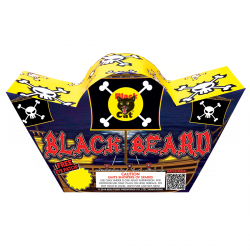 Matey's, take no prisioners!  Fry the enemy pirates with crackle & sparks, spear them with sharp slivers. Blackbeard is a colorful, sizzling reign of terror that will delight kids of all ages. - See more at: http://www.blackcatfireworks.com/fireworks/fountains-200-gram/bc-2215/#sthash.IDclJDDU.dpuf