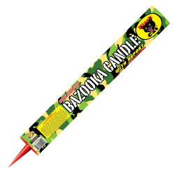Black Cat adds its flair to roman candles.  This Bazooka adds firecracker-like bursts to the usual rapid fire and bright colors. - See more at: http://www.blackcatfireworks.com/fireworks/roman-candles/bc-521-2/#sthash.FfNMHHPH.dpuf
